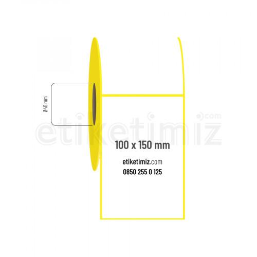 100x150 mm Eco Termal Etiket