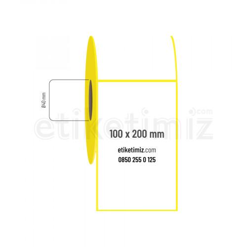 100x200 mm Eco Termal Etiket